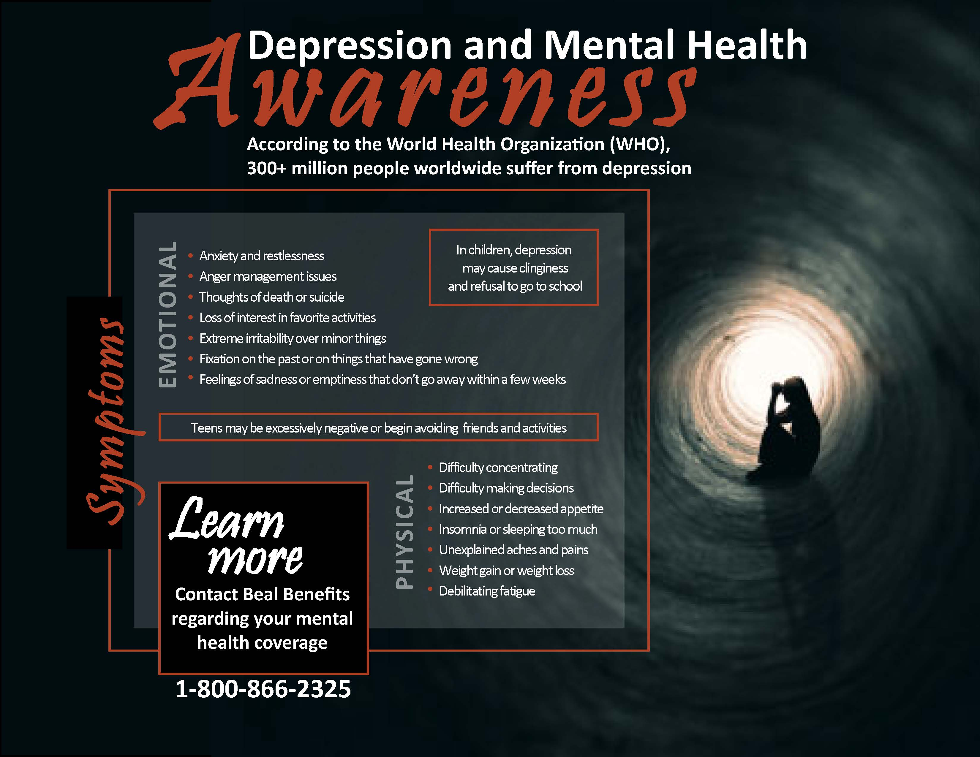 2019 Depression and Mental Health Awareness Flyer